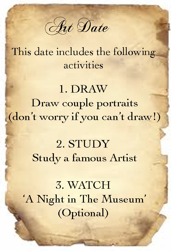 Date of Artistic Fun