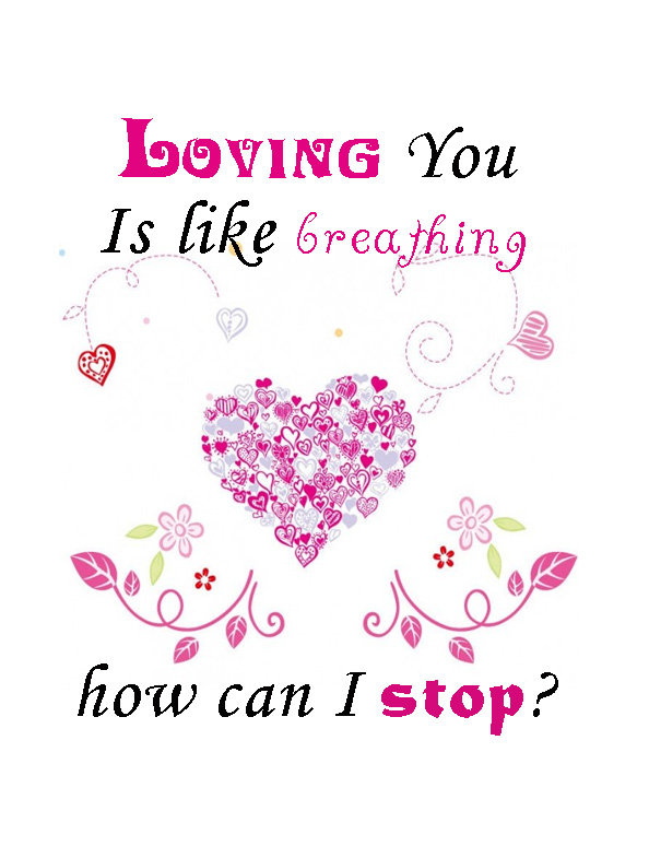 Loving You Quotes Delectable I Love You Quote  Aunty Bears Blog