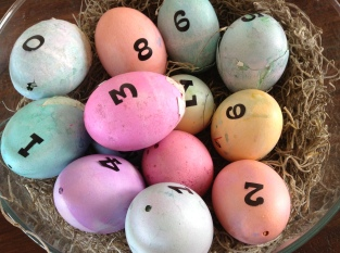 Advent Easter Egg Calendar with Scripture