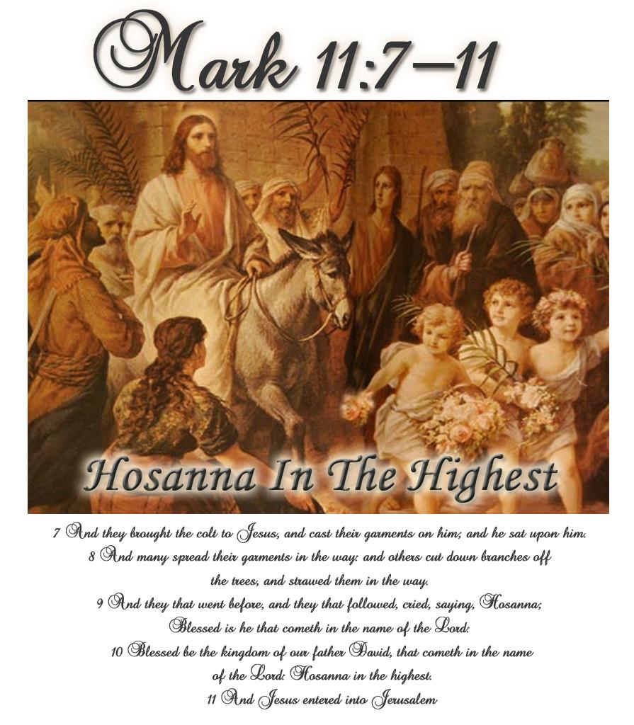 Holy Week Monday