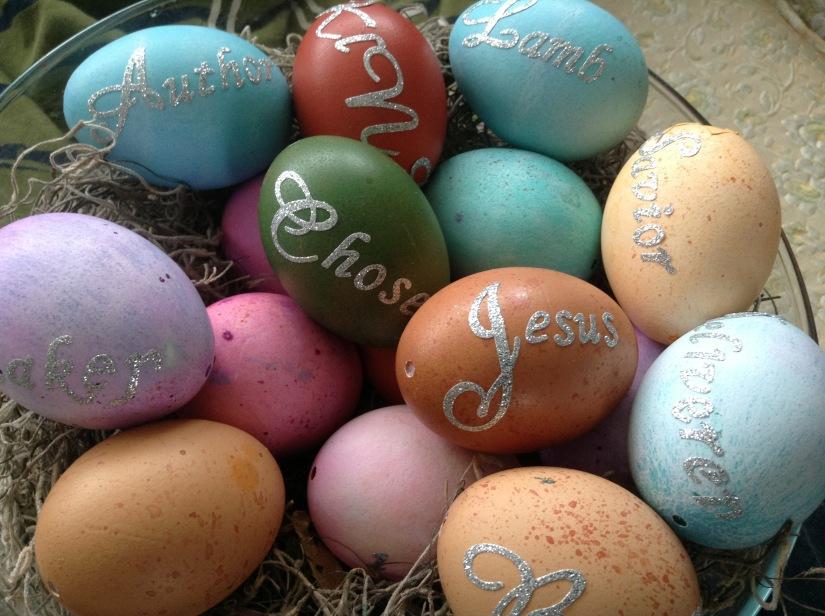 Names Of Christ Easter Eggs