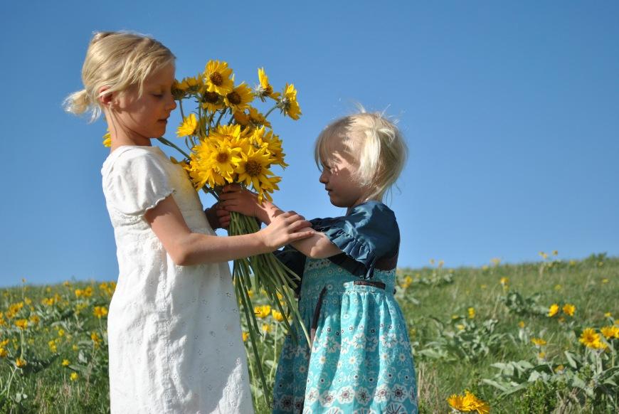flowers girls