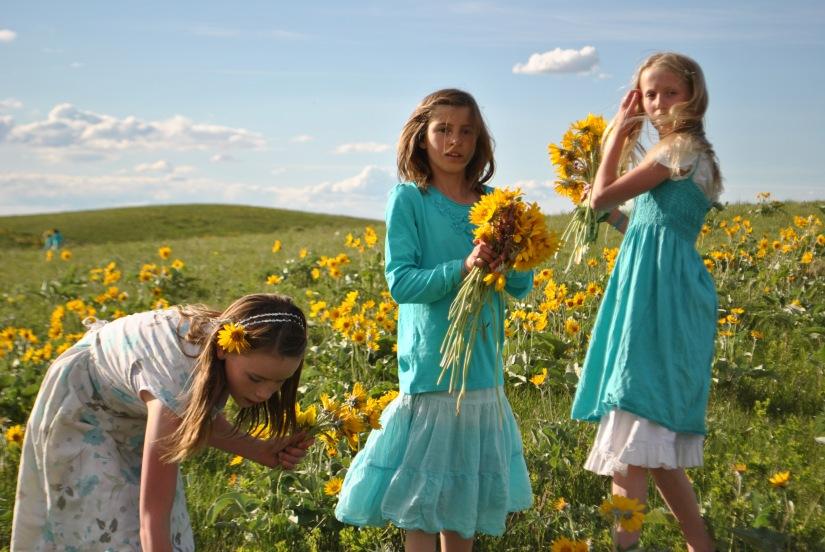 flowers girlss