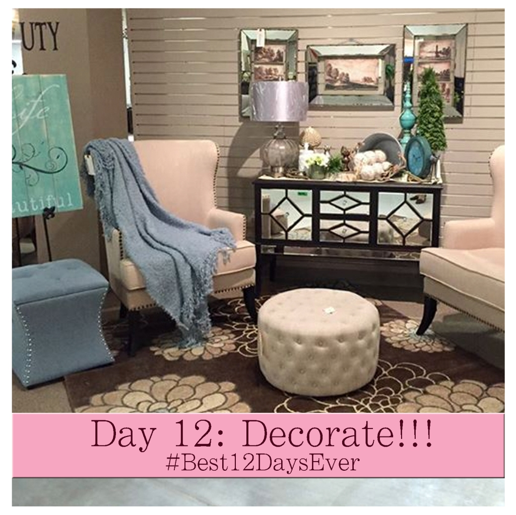 Day 12 Decorate #Best12DaysEver