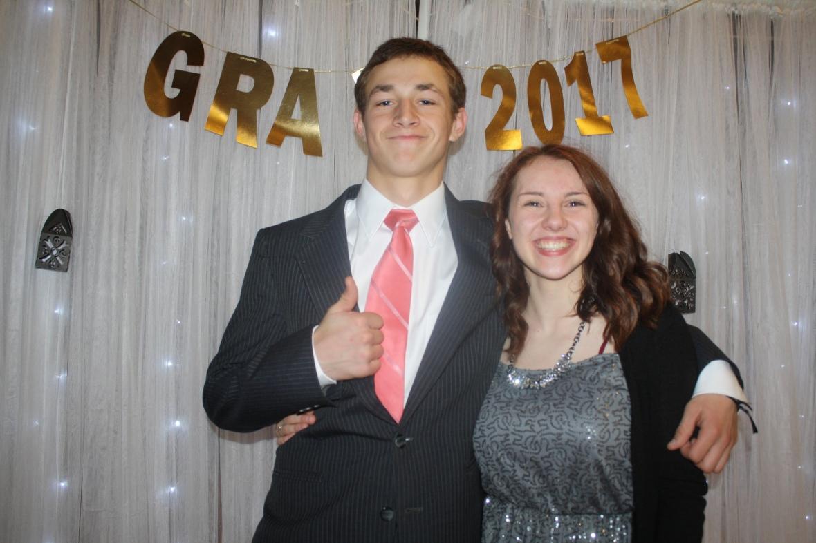 Analaea and Brock grad