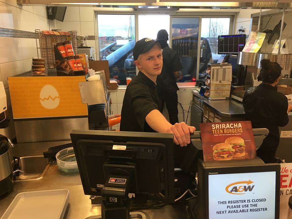 ethan at a&w